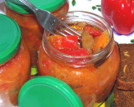 салат рецепты на праздничный стол из баклажанами