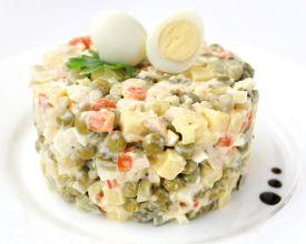 Простые и вкусные рецепты салатов с фото