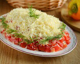 рецепт легкого салата из огурцов