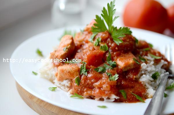 курица в мультиварке рецепты с помидорами и