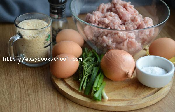 зразы из курицы с яйцом рецепт с фото классический