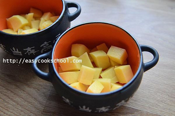 рецепты мяса с картошкой в горшочках в духовке с фото