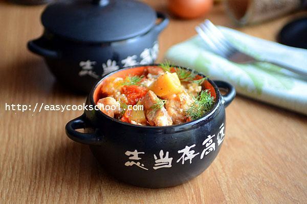 еда в горшочке в духовке рецепты мясо с картошкой