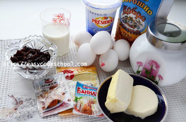 Кулич пасхальный с сухими дрожжами рецепт с фото пошагово, Легкие рецепты