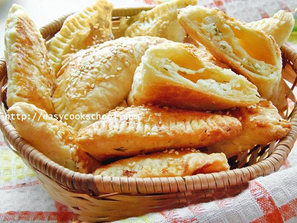 Слоеное бездрожжевое тесто что приготовить с сыром
