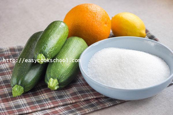фото рецепт варенья из кабачков с апельсинами