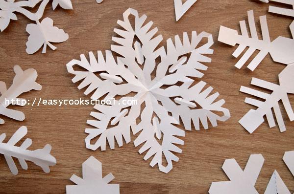 Снежинки своими руками шаблоны для вырезания