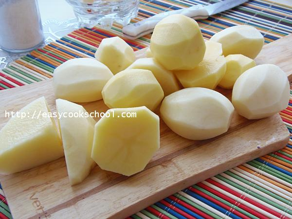 как приготовить вкусное пюре из картофеля с молоком