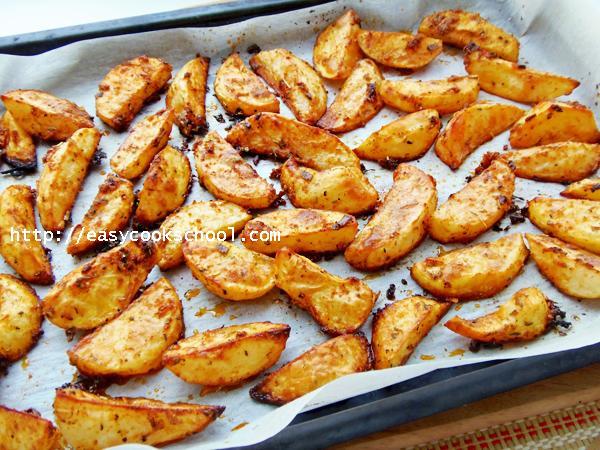 Картошка в духовке с сырной корочкой рецепт 55