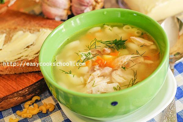 легкий суп из куриной грудки рецепт